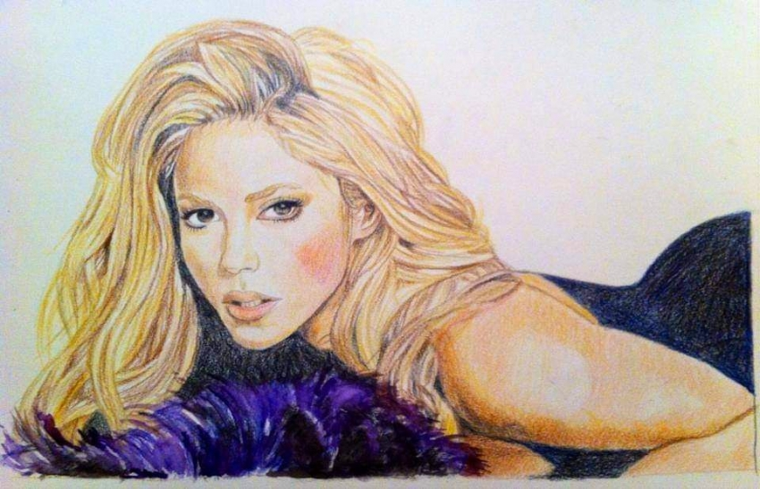 Shakira by g1adina87